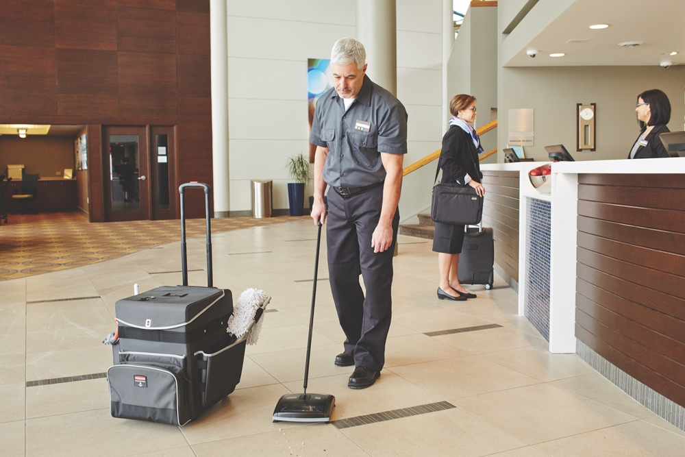 How the right equipment can optimise cleaning procedures in hospitality